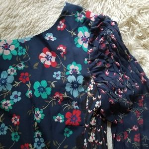 Saloni floral dress new with tags size 4